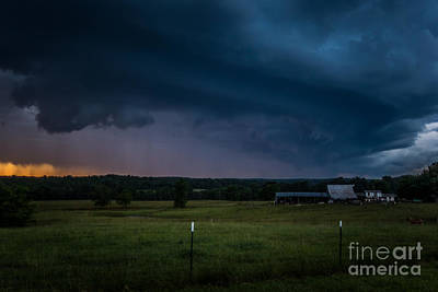 Photograph - A Brewing Storm by Julie Clements