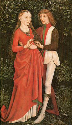 Husband And Wife Painting - A Bridal Pair by Annonymous