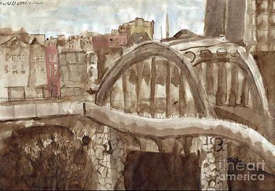 A Bridge In Baltimore Original by Phillip Castaldi
