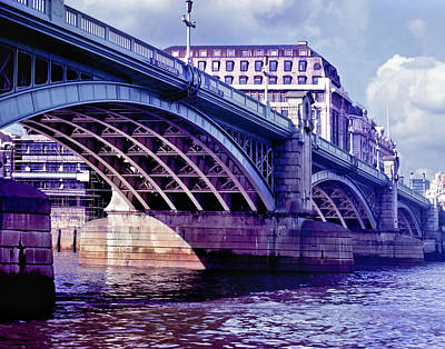 Photograph - A Bridge In London by David and Carol Kelly