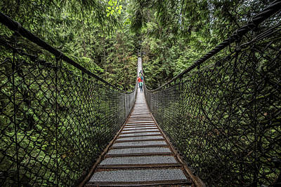Photograph - A Bridge In Vancouver, Canada by Jonathan Tucker