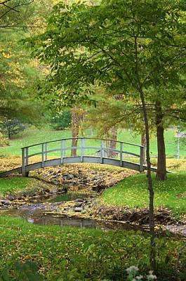 Photograph - A Bridge To Peacefulness by Bruce Bley
