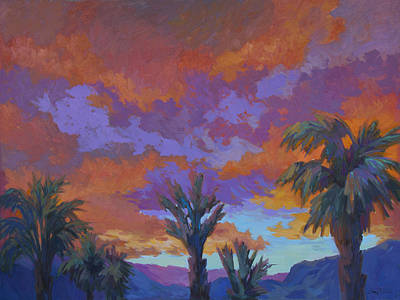 Painting - A Brilliant Sunrise by Diane McClary