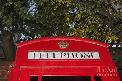 A British Phone Box Art Print