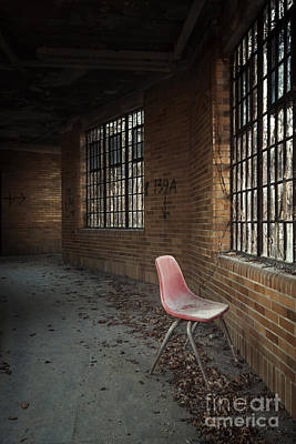 Asylum Photograph - A Broken Serenade by Evelina Kremsdorf