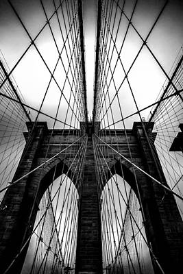 Bridge Photograph - A Brooklyn Perspective by Az Jackson
