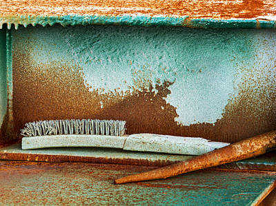 Photograph - A Brush With Time by Jean Noren