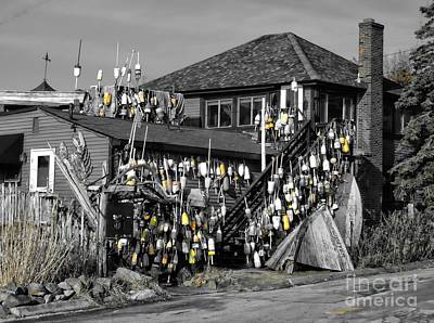 Photograph - A Building With Attachments by Marcia Lee Jones