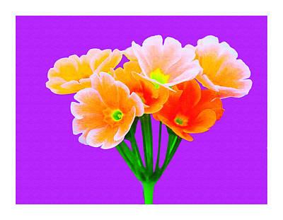A Bunch Of Beautiful Flowers Art Print by Ck Gandhi