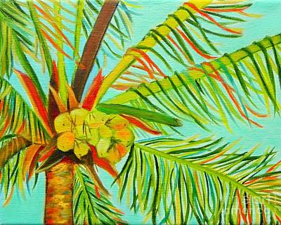 Painting - A Bunch Of Coconuts by Shelia Kempf