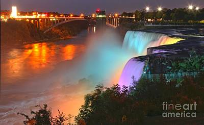 Photograph - A Burst Of Color At Niagara by Adam Jewell