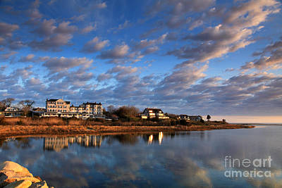 Photograph - First Light Edgartown Harbor by Butch Lombardi