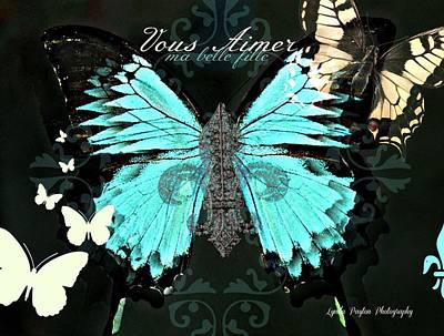 A Butterfly For Terra Art Print by Lynda Payton