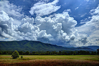 Photograph - A Cades Cove Afternoon by Michael Eingle
