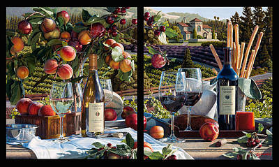 Cakebread Painting - A Cake Walk by Eric Christensen