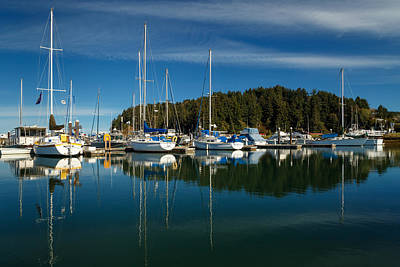 Photograph - A Calm Day In Winchester Bay by James Eddy