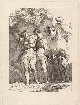 A Captive Family Art Print by Robert Blyth