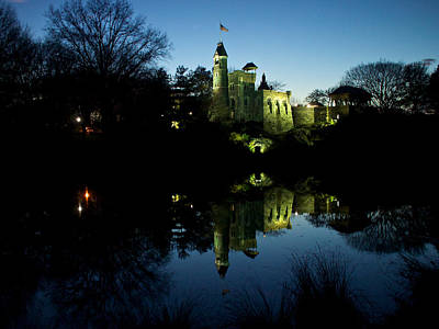 Photograph - A Castle In Reflection by Cornelis Verwaal