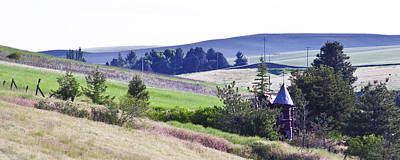 Fantasy Royalty-Free and Rights-Managed Images - A Castle in the Palouse by David Patterson