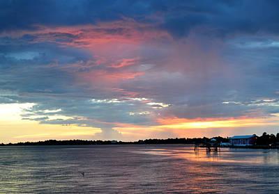 Photograph - A Cedar Key Sunset by RD Erickson