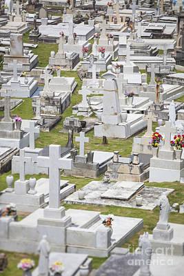 A Cemetery In Old San Juan Puerto Rico Art Print