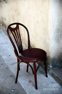 Photograph - A Chair In Avignon by John Rizzuto