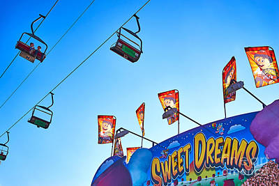 Sweet Dreams Photograph - A Chairlift Ride To Sweet Dreams by Matt Suess