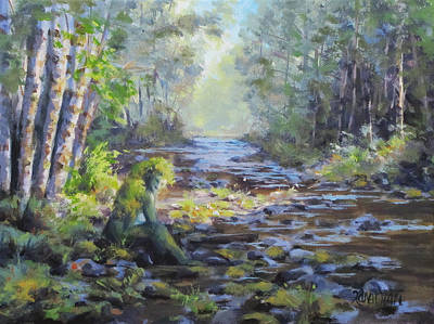 Painting - A Chance Encounter With Mossman by Karen Ilari