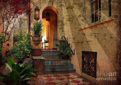 Photograph - A Charleston Garden by Kathy Baccari