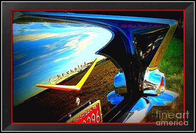 Photograph - A Chevy Kind Of Day by Deb Badt-Covell
