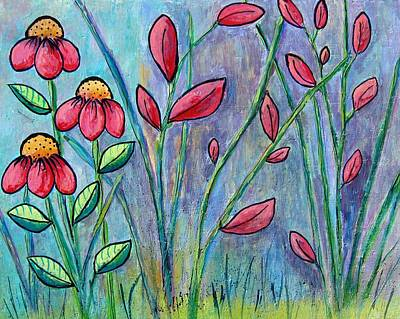 Painting - A Child's Garden by Suzanne Theis