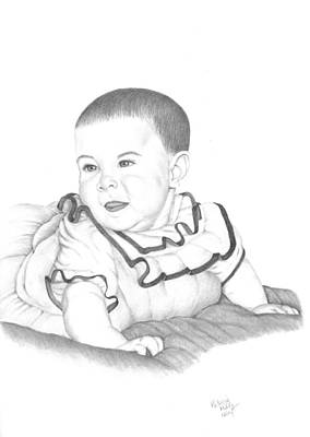 Drawing - A Child's Look Of Wonder by Patricia Hiltz