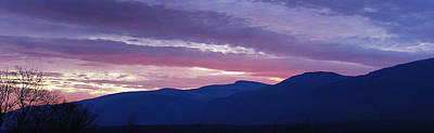 Photograph - A Chilly Dusk At The Catskill Mountain Escarpment by Terrance DePietro