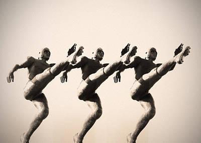 Linc Photograph - A Chorus Line by Bill Cannon