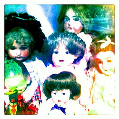 Photograph - A Chorus Of Dolls - Toy Dreams 4 by Marianne Dow