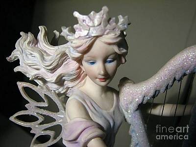 Photograph - A Christmas Angel by Chris Anderson