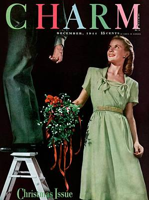 1940s Fashion Photograph - A Christmas Charm Cover by Elliot Clarke
