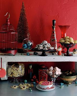Cooking Photograph - A Christmas Display by Romulo Yanes