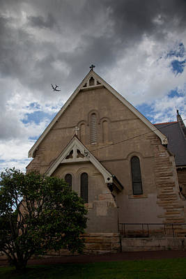 Photograph - A Church by Carole Hinding