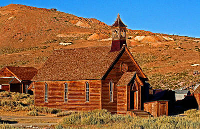 Photograph - A Church For Bodie by Joseph Coulombe