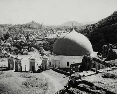 Haitian Photograph - A Church In Haiti by Cecil Beaton