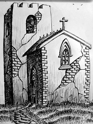 Old Church Art Print by Salman Ravish