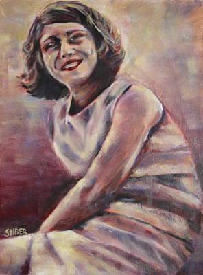 A Classic Beauty Art Print
