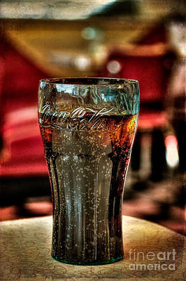 Coke Classic Photograph - A Classic by Lois Bryan