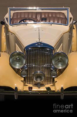 A Classic Rolls Royce Art Print