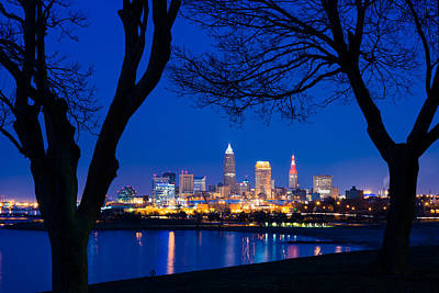 Lake Erie Photograph - A Cleveland Romance by Clint Buhler