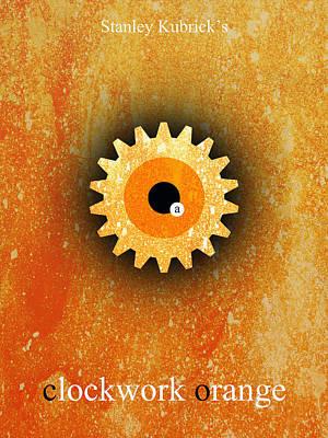Clockwork Orange Digital Art - A Clockwork Orange by Filippo B