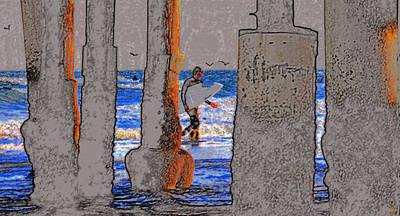 A Close Call Art Print by David Lee Thompson