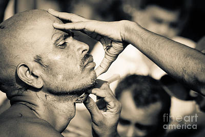 Photograph - A Close Shave  by Neville Bulsara