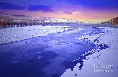 Summerland Photograph - A Cold New Years Eve by Tara Turner